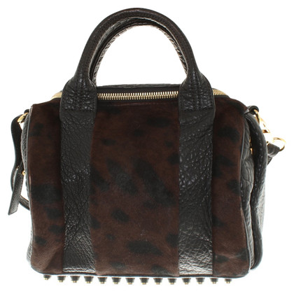 "Alexander Wang ""Rocco Bag"" with fur trim"