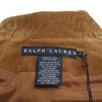 Ralph Lauren Cord Blazer in Ocher