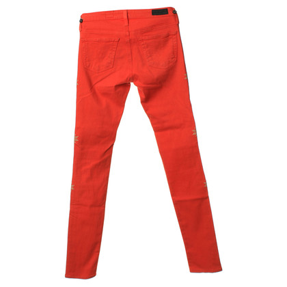 Adriano Goldschmied Jeans in Orange