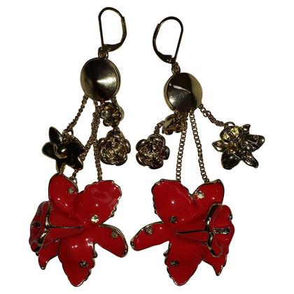 Versace for H&M Flower Earrings