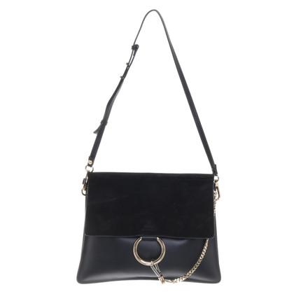 "Chloé ""Faye Shoulder Bag"" in black"