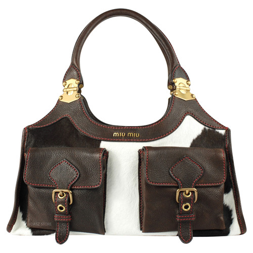 Miu Miu Handbag Leather - Second Hand Miu Miu Handbag Leather buy ... 6ea682952cfd2
