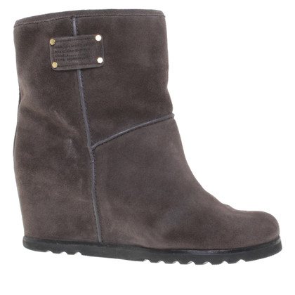 Marc Jacobs Stiefeletten in Grau