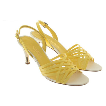 Chanel Sandals in yellow