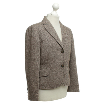 Missoni Tweed Blazer In Brown