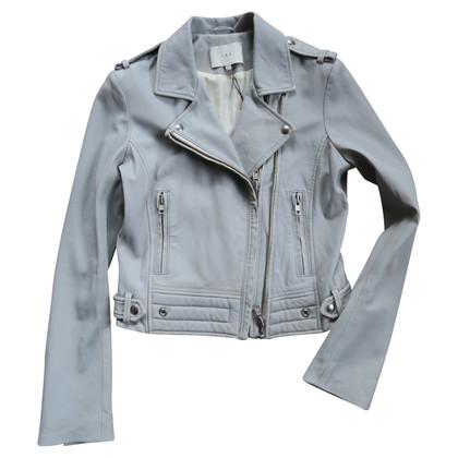 Iro Light gray leather jacket