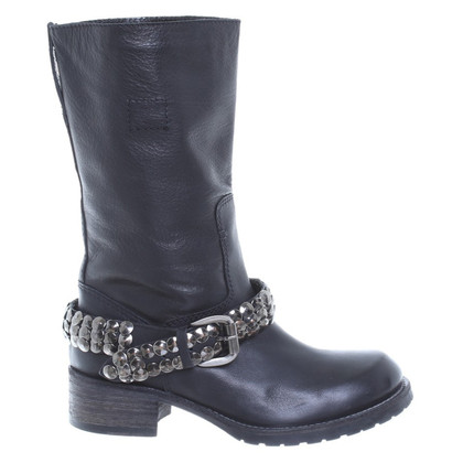 Other Designer Coast - boots with Ribbon trim