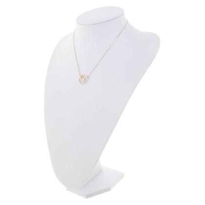 Swarovski Roségoldfarbene chain with heart
