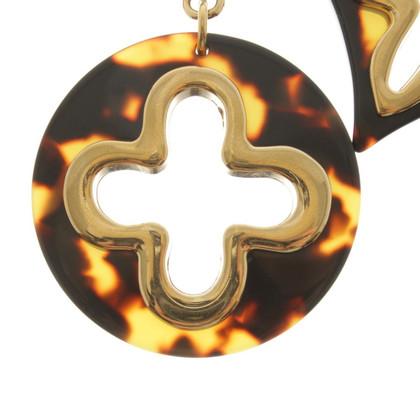 Louis Vuitton Key pendant with flowers