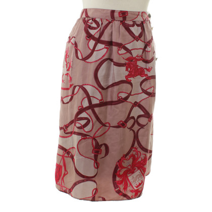 Burberry skirt with Motivprint