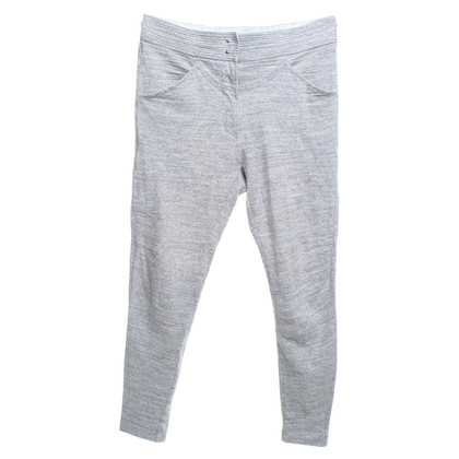 Isabel Marant Cotton trousers in grey