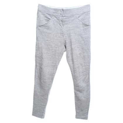 Isabel Marant Katoenen broek in grijs