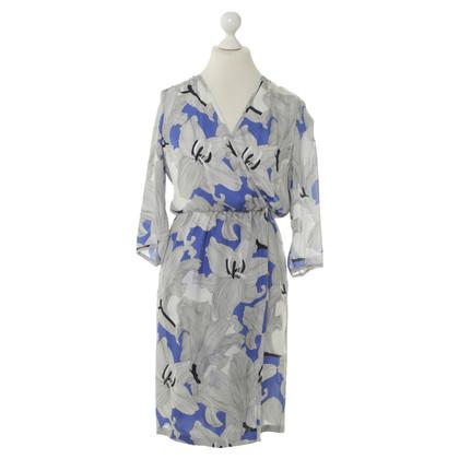 Rena Lange Seidenkleid mit Musterprint