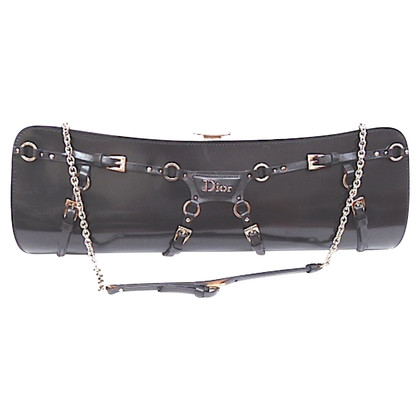 Christian Dior clutch with chain handle