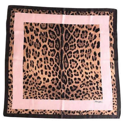 Dolce & Gabbana Silk scarf with pattern