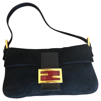 "Fendi ""Baguette Bag"" of velvet"