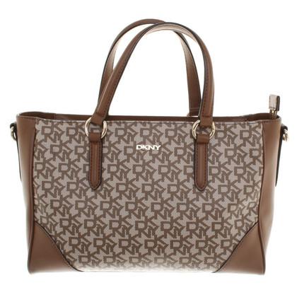 Donna Karan Handbag with monogram pattern