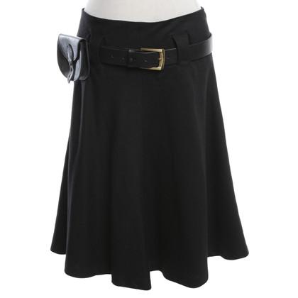 Belstaff Wool skirt in black