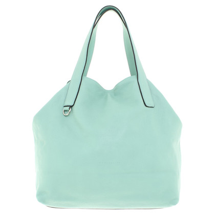 Coccinelle Leather Hopper in Turquoise