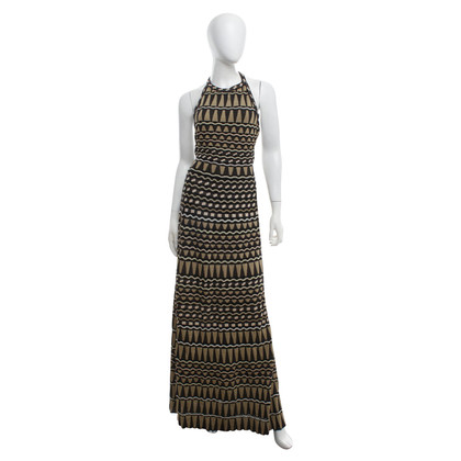 Missoni Maxi dress in black / gold