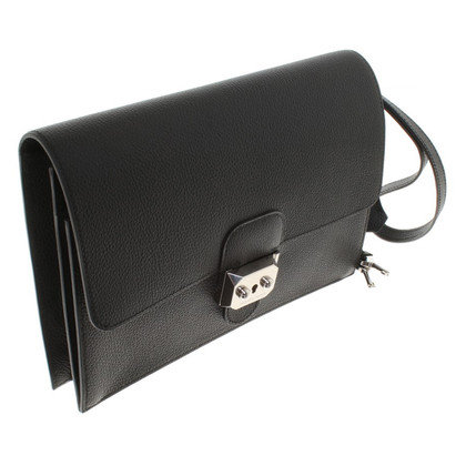"Hermès ""Jet Pochette clutch"" in black"