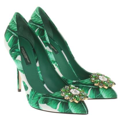 Dolce & Gabbana pumps in green
