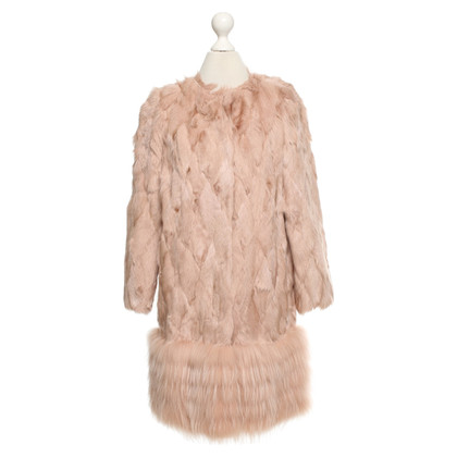 Red Valentino Fur coat in pink