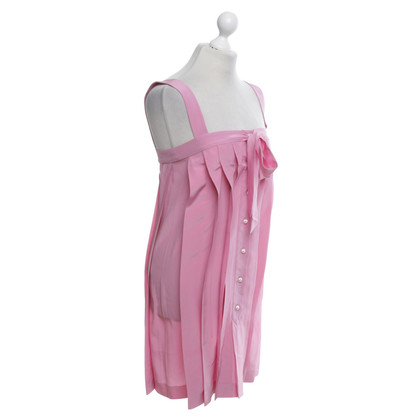 Chanel Silk dress in pink