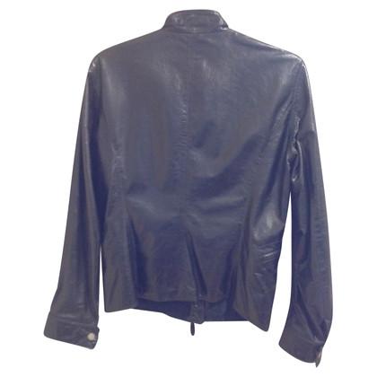 Gianni Versace giacca di pelle