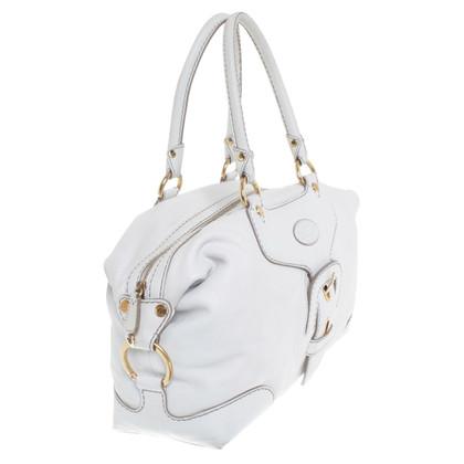 Tod's Leather handbag in cream white