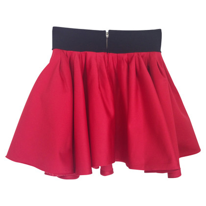 Acne Acne romantic satin skirt