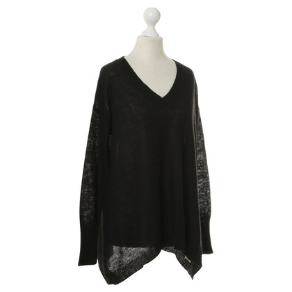 DKNY Oversized sweater in black