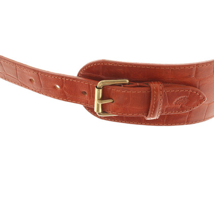 Mulberry Belt in orange