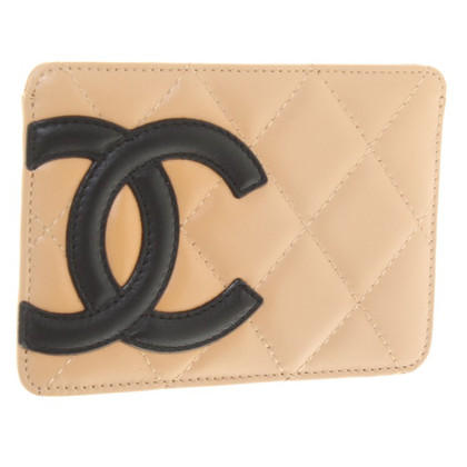 Chanel Credit Card in Beige