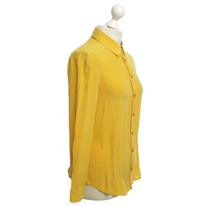 Max Mara Silk blouse in ocher