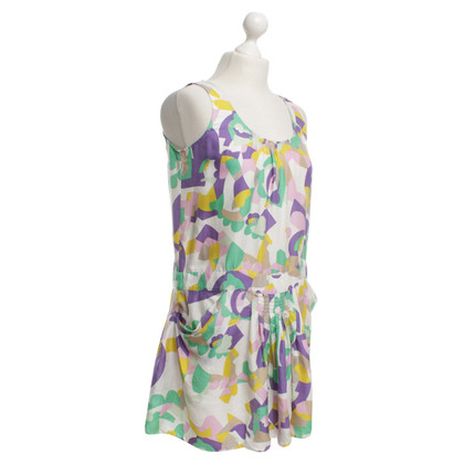 See by Chloé Silk dress with pattern