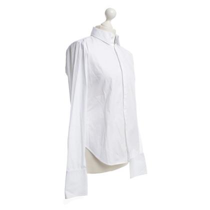 Ralph Lauren Slim-fit blouse in het wit