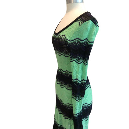 Missoni Knitted dress in bicolour