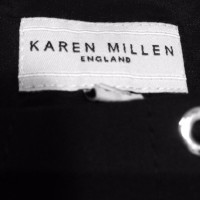 Karen Millen Black dress with eyelets