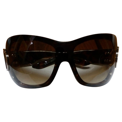 Christian Dior Brown plastic sunglasses