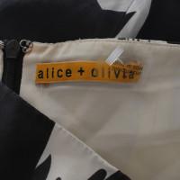 Alice + Olivia Kleid mit floralem Muster
