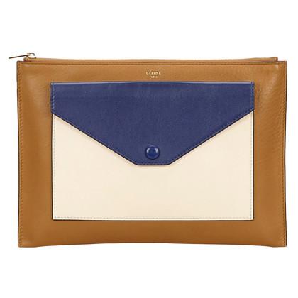 Céline Celine Calf Leather Clutch Bag