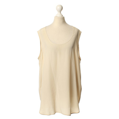Iris von Arnim Zijden top in beige