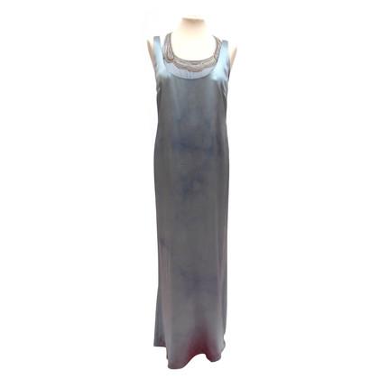 Ralph Lauren Seidenkleid mit tiefem Ausschnitt