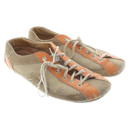 Car Shoe Sneaker in beige