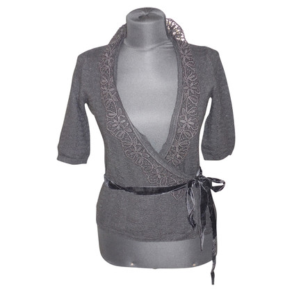 D&G Wrap Cardigan with lace