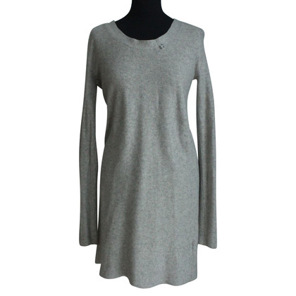 Hermès Grey wool dress