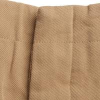 Miu Miu Ocher color trousers
