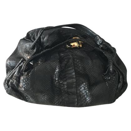 Philipp Plein Handbag made of python leather