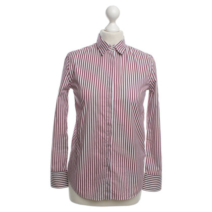 Brunello Cucinelli Shirt in wit / paars